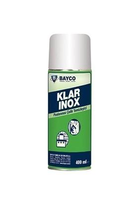Bayco Klar Inox Paslanmaz Çelik Temizleyici 400 ml