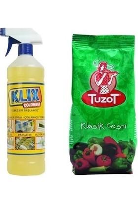 Klix Colombia Araç Içi Temizleyici 1 kg + Tuzot Sebzeli Baharat Çeşnisi 200 gr