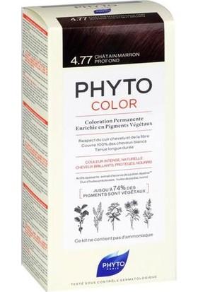 Phyto Phytocolor Bitkisel Saç Boyası 4.77 Yoğun Kestane Bakır