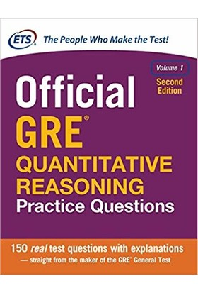 Official Gre Quantitative Reasoning Practice Questions 1 (2nd Ed.)