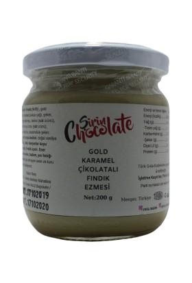 Şirin Chocolate Gold Karamel Çikolatalı Fındık Ezmesi