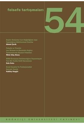 Felsefe Tartışmaları 54