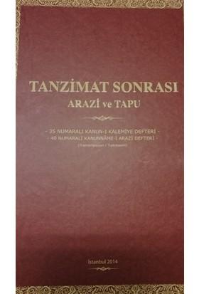 Tanzimat Sonrası Arazi ve Tapu