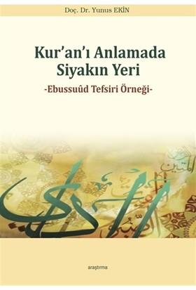 Kur'an'ı Anlamada Siyakın Yeri