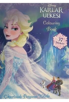 Frozen Coloring Book - Çıkartmalı Boyama Kitabı 37 Stickers