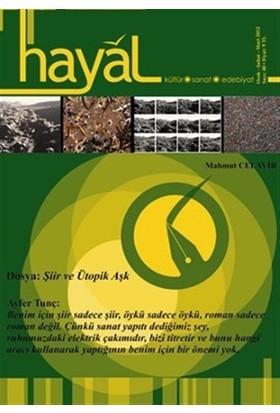 Hayal Kültür Sanat Edebiyat Dergisi Sayı: 40