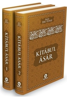 Kitabu'l Asar (2 Cilt Takım)