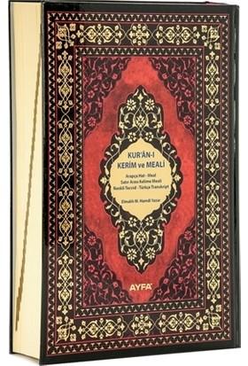 Kur'an-ı Kerim ve Meali (Camii Boy Ayfa086)