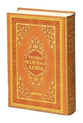 Tecvidli Kur'an-ı Kerim Cami Boy Mühürlü (Kahverengi Kapaklı) (135TR)