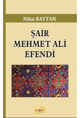 Şair Mehmet Ali Efendi