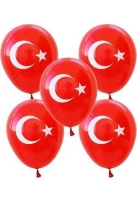 Sivas Süs Dünyası Bayrak Balon 100 Adet