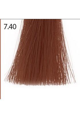 Baco Kalıcı Saç Boyası 7.40 Kumral Bakır