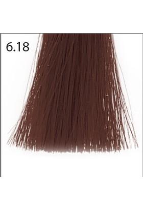 Baco Kalıcı Saç Boyası 6.18 Koyu Kumral Küllü Çikolata