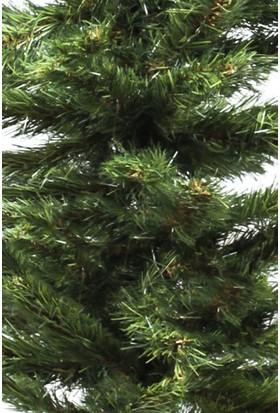 Kullan At Market Yılbaşı Lüks Yeşil Çam Ağacı - 120 cm 116 Dal Plastik Ayaklı