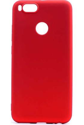 89 Go Xiaomi Mi 5x Silikon Kılıf Kırmızı