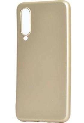 Teleplus Xiaomi Mi9 Lite Mat Silikon Kılıf Gold