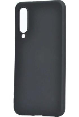 Teleplus Xiaomi Mi9 Lite Mat Silikon Kılıf Siyah + Nano Ekran Koruyucu