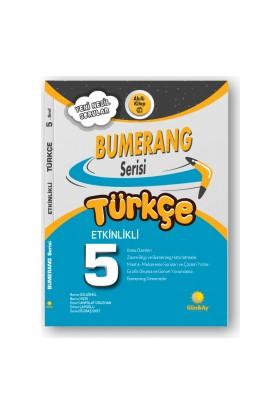 Günay Yayınları 5.Sınıf Bumerang Etkileşimli Kitap Türkçe