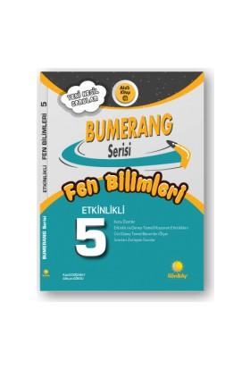 Günay Yayınları 5.Sınıf Bumerang Etkileşimli Kitap Fen Bilimleri