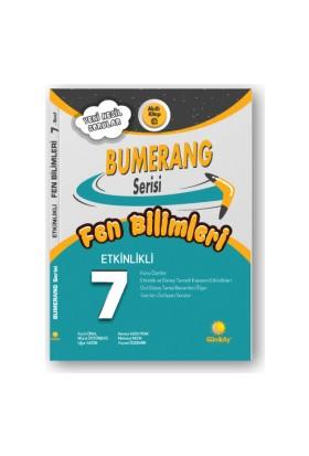 Günay Yayınları 7.Sınıf Bumerang Etkinlikli Kitap Fen Bilimleri