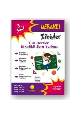 Günay Yayınları 3.Sınıf Meraklı Zihinler Etkinlikli Tüm Dersler Soru Bankası
