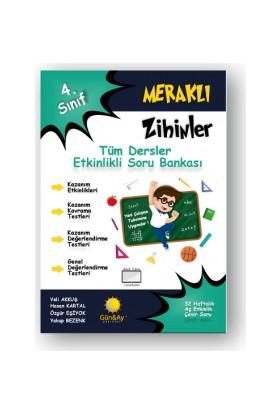 Günay Yayınları 4.Sınıf Meraklı Zihinler Etkinlikli Tüm Dersler Soru Bankası