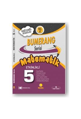 Günay Yayınları 5.Sınıf Bumerang Etkileşimli Kitap Matematik