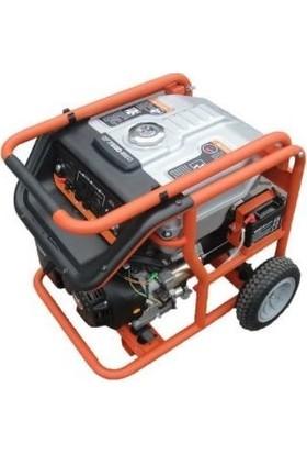 Zongshen Ats Benzinli Jeneratör Otomatik Devre Sistemli 5,5 kW