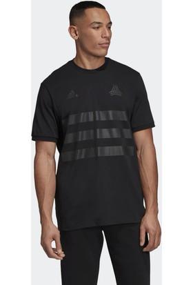 Adidas Erkek Futbol Forması Dy5846 Tan Heavy Tee