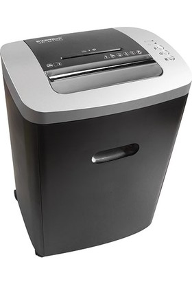 Everest JP-615C Kağıt İmha Makinesi Siyah Kredi Kartı, CD - DVD Kesme ve Öğütücü 220 mm 18 l