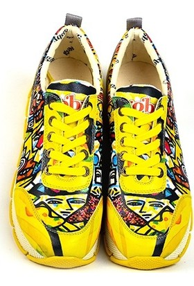 Goby - Anouk Kadın Tasarım Sneaker Sarı
