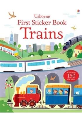 Trains - First Sticker Book