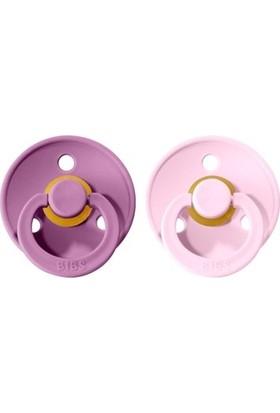 Bibs Colour Ikili Emzik - Lavender/baby Pink