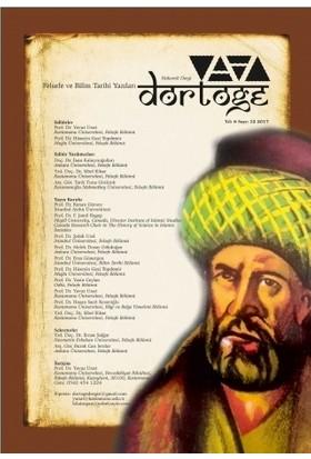 Dörtöğe Felsefe ve Bilim Tarihi Yazıları Hakemli Dergi Yıl: 6 Sayı: 12