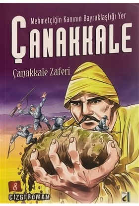 Mehmetçiğin Kanının Bayraklaştığı Yer Çanakkale (8 Kitap Takım)