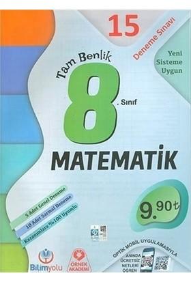 8. Sınıf Matematik Tam Benlik 15 Deneme Sınavı