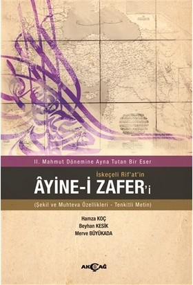 İskeçeli Rif'at'in Ayine-i Zafer'i