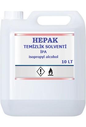 Hepak Ipa Temizlik Solventi Izopropil Alkol 10 l Ipa %99 9