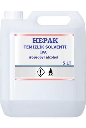 Hepak Ipa Temizlik Solventi Izopropil Alkol 5 l Ipa %99 9