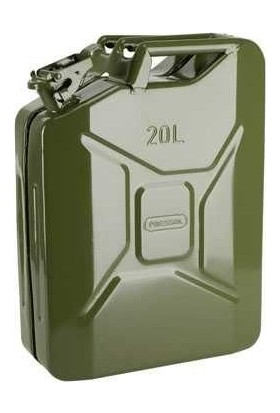 Gyg Metal Benzin Yakıt Bidonu 20 Lt