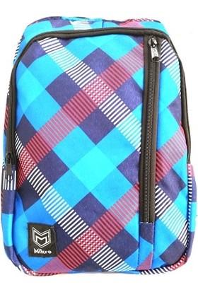 Mikro MB-325 Okul Sırt Çantası Mavi