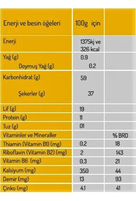 Naturiga Nutritional Yeast (Besin Mayası) 100 gr