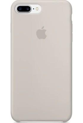 Gezegen Aksesuar Apple iPhone 7 Plus Kılıf - Bej