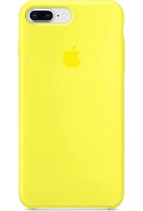 Gezegen Aksesuar Apple iPhone 7 Plus Kılıf - Sarı