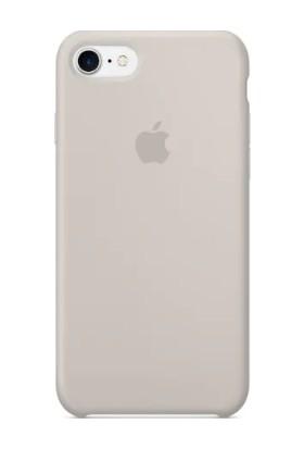 Gezegen Aksesuar Apple iPhone 8 Kılıf - Krem