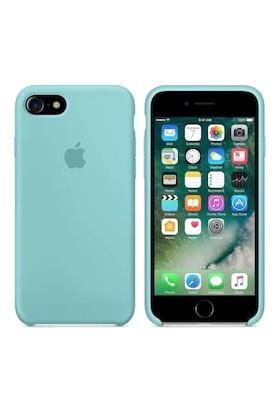 Gezegen Aksesuar Apple iPhone 8 Kılıf - Mavi