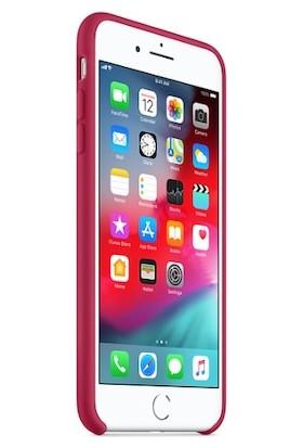 Gezegen Aksesuar Apple iPhone 8 Plus Kılıf - Bordo