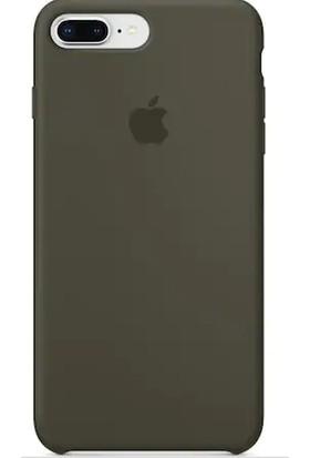 Gezegen Aksesuar Apple iPhone 8 Plus Kılıf - Yeşil