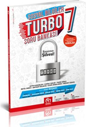 Model Yayınevi 7. Sınıf Sosyal Bilgiler Turbo Soru Bankası