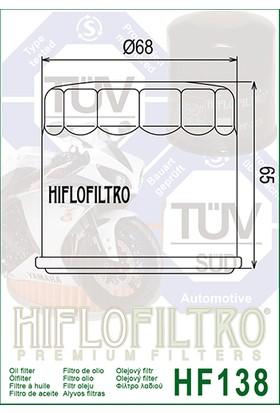 Suzuki GW250 Inazuma Yağ Filtresi Hiflo HF-138F - Z (2012 - 2016)
